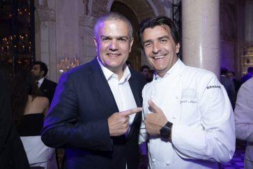 Ricardo Guadalupe and Yannick Alléno