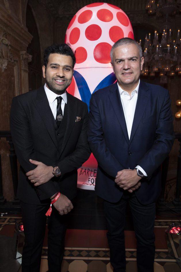 Rohit Sharma and Ricardo Guadalupe