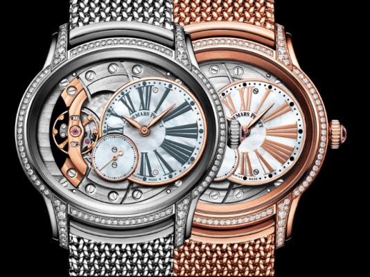 Relojes Audemars Piguet en plata y bronce
