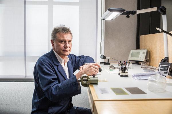 François-Paul en su jornada de trabajo