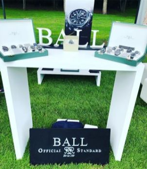 Muestrario de relojes en Torneo de Golf Copa Liverpool Alta Relojería