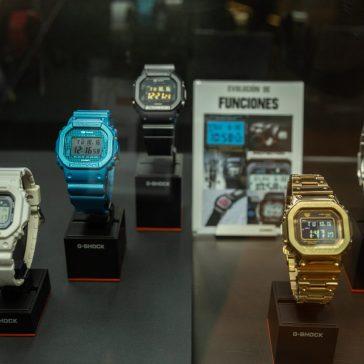 CASIO GSHOCK SIAR MX 2018 Relojes en mostrador de frente