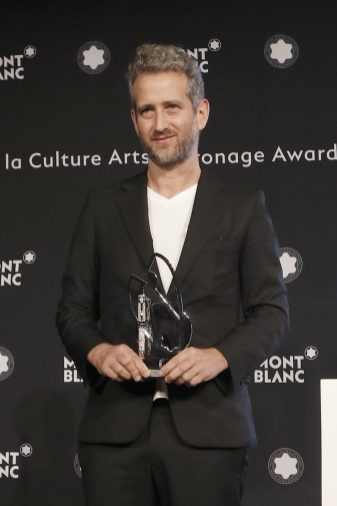 Entrega de premio Montblanc Culture Arts Patronage Award Yoshua Okón
