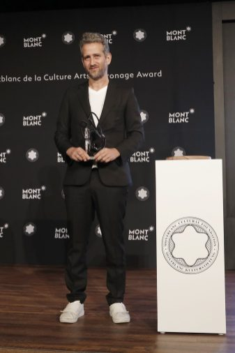 Montblanc Culture Arts Patronage Award Yoshua Okón