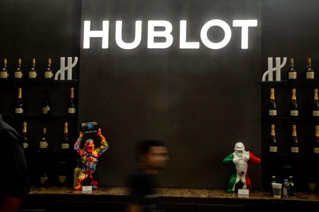 Booth hublot durante SIAR MX 2018