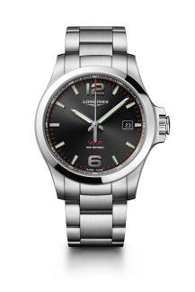 Reloj negro sin cuadros Longines modelo L3-726-4-96