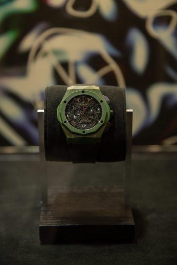 Reloj Classic Fusion Aerofusion Chronograph Orlinski México en mostrador