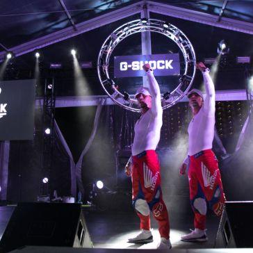 Show en el 35 aniversario de Casio G-Shock en Cancún