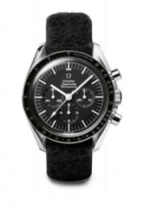 Reloj OMEGA Speedmaster ST 105.012 de color negro en película First Man
