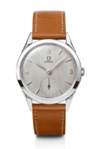Reloj OMEGA Wristwatch CK 2605 de color café en película First Man