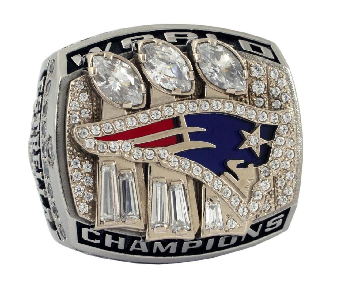Anillo de campeonato Super Bowl de Robert Kraft
