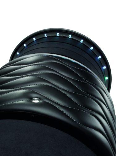 Buben & Zorweg safe illusion caja fuerte para relojes en color negro de frente
