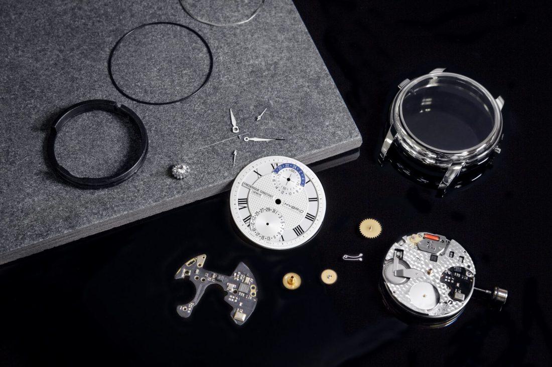 Elemtos que contiene un reloj Frédérique Constant