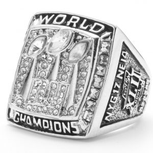 Anillo Super Bowl Giants New York 2007