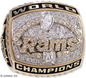 Anillo Super Bowl Rams