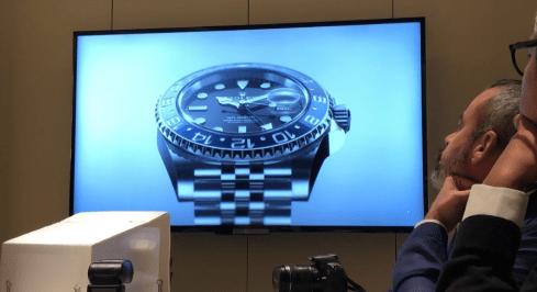 Presentación nuevo reloj rolex