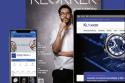 Revista relojería con un celular y una computadora a los lados con la página web de Klokker