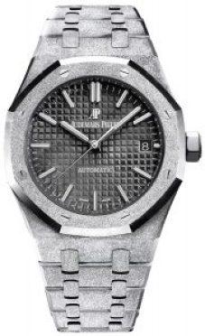 Reloj regalo para papá en color plateado brillante