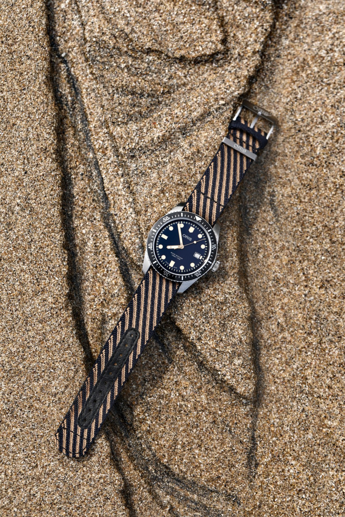 Cleanup Day Watch Reference: 01 733 7720 4035-07 5 21 13 Oris Divers Sixty-Five
