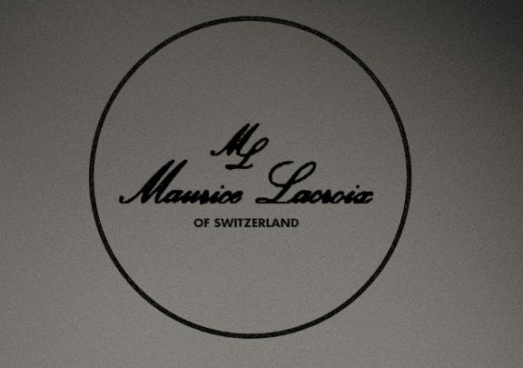 Logotipo en blanco y negro de Maurice Lacroix