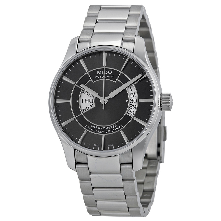 mido-belluna-automatic-chronometer-black-dial-stainless-steel-mens-watch-m0014311106102-m0014311106102