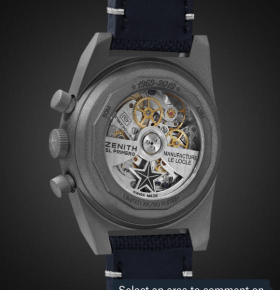 El Primero reloj automático Zenith