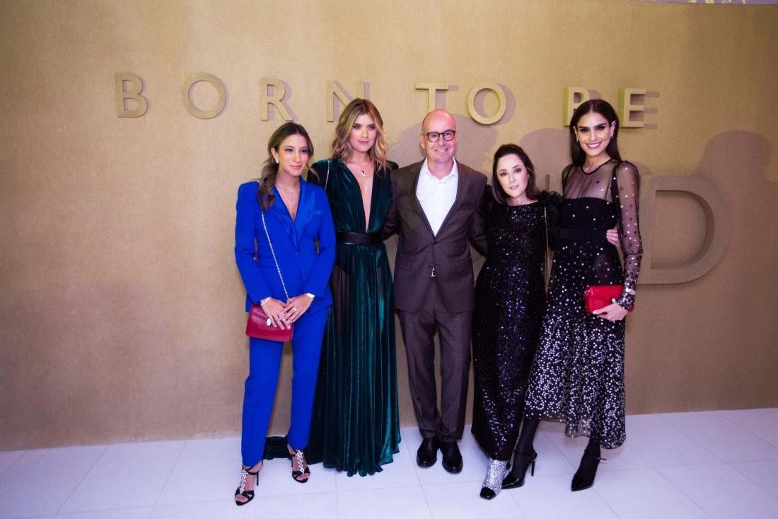 María José Guerrero, Laura Tobón, Christian Konrad, Ari Camacho y Alejandra Infante