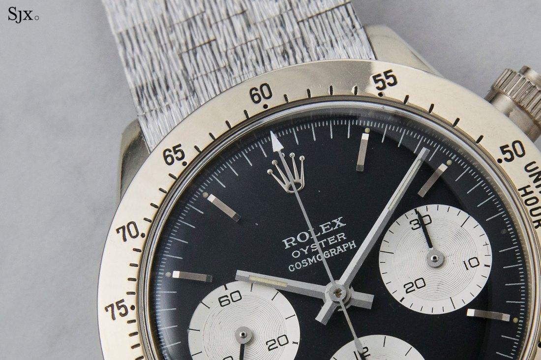 Rolex Daytona 6265 de oro blanco