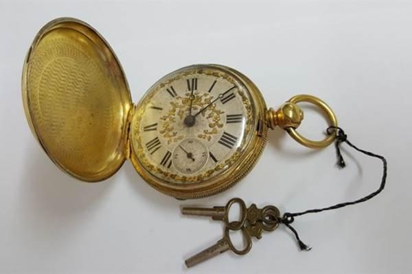 Reloj de bolsillo siglo XIX