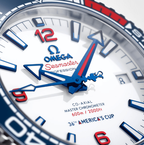 OMEGA Seamaster Planet Ocean36th America´s Cup Limited Edition.