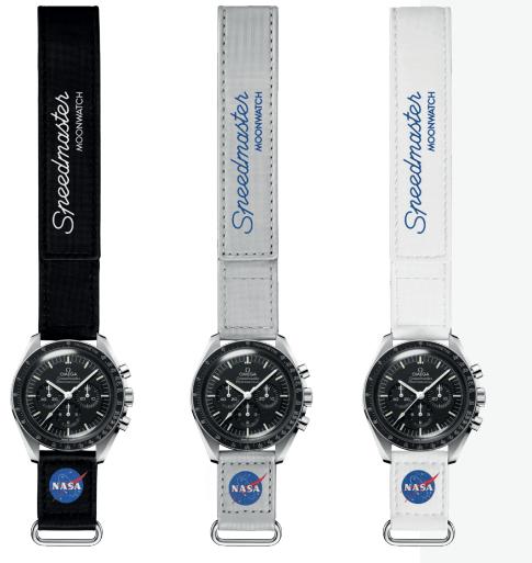 Correas Velcro Speedmaster Moonwatch