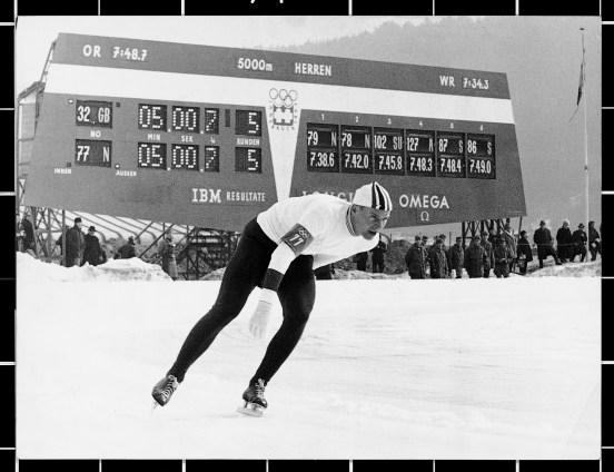 Juegos Olímpicos Omega historia