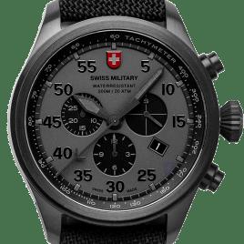 CXSwiss military Hawk Nero Rawhide