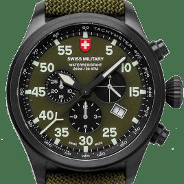 CX Swiss military Hawk Nero Rawhide