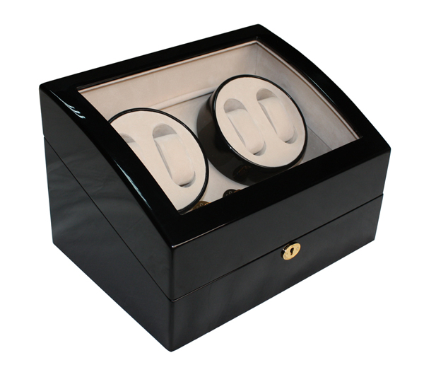 Watch winder til 4+5 klokker i tre