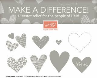 Hearts For Haiti–Stampin' Up! Gives Back