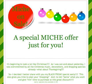 Miche Bag Black Friday Special