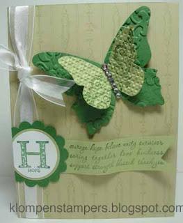 GREEN Cancer Awareness Card