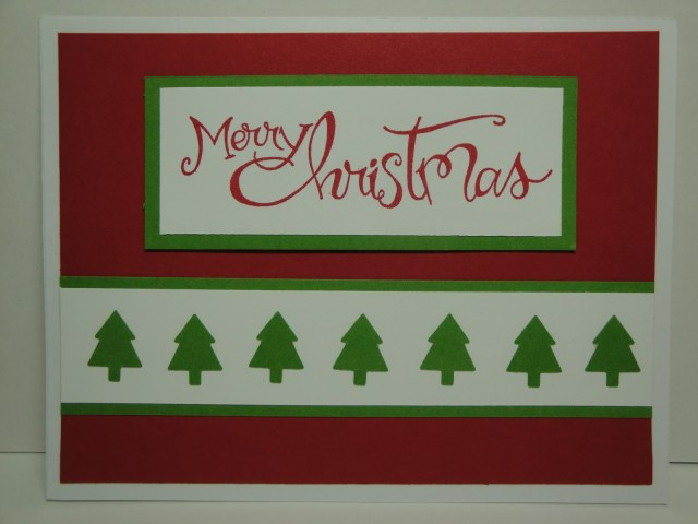 Day #9:  30 Days of Christmas Cards!