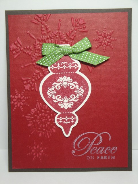 Day #28:  30 Days of Christmas Cards!