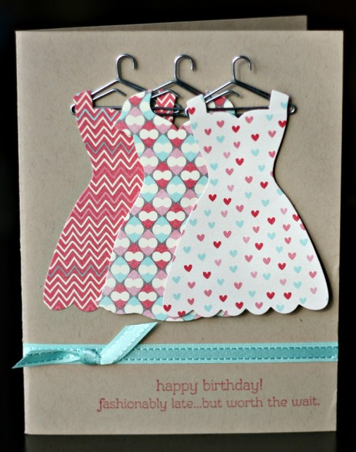 EASY PEASY Dress Up Card