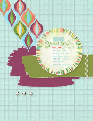 Digital Delights Wednesday: Be Yourself May Kit