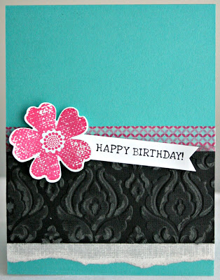 Technique Tuesday: Core'dinations Cardstock