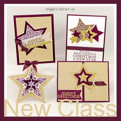 FREE On-Line Stampin Class–SUPER STARS