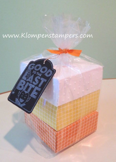 Candy Corn Gift Boxes???