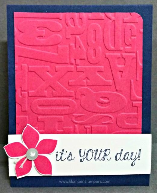 One Of My FAV Flower Stamp Sets