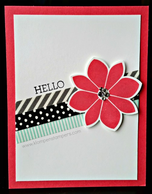 Petal Potpourri = FAST AND EASY CARDS!