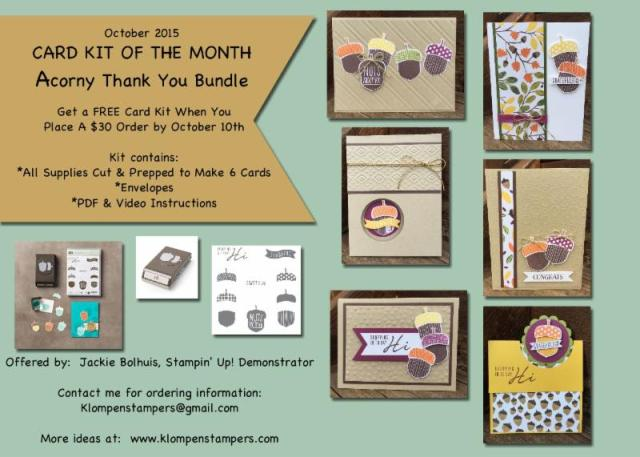 FREE On-Line Class & Card Kit