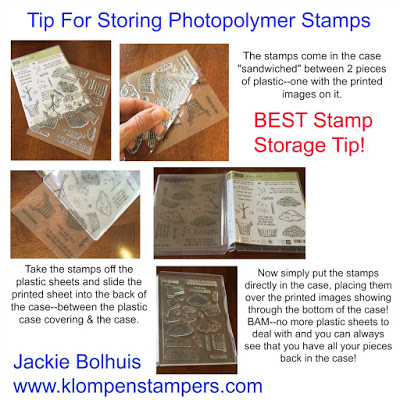 BEST Tip For Storing Photopolymer Stamps