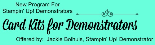Are you a Stampin' Up! Demonstrator?